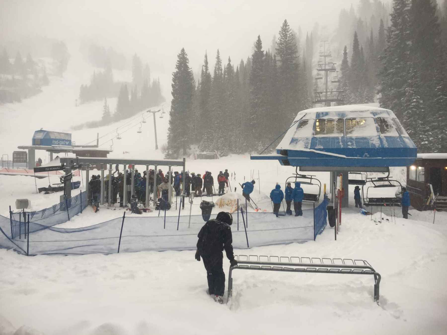 Opening Day at Snowbird 2018 - 2019 Season