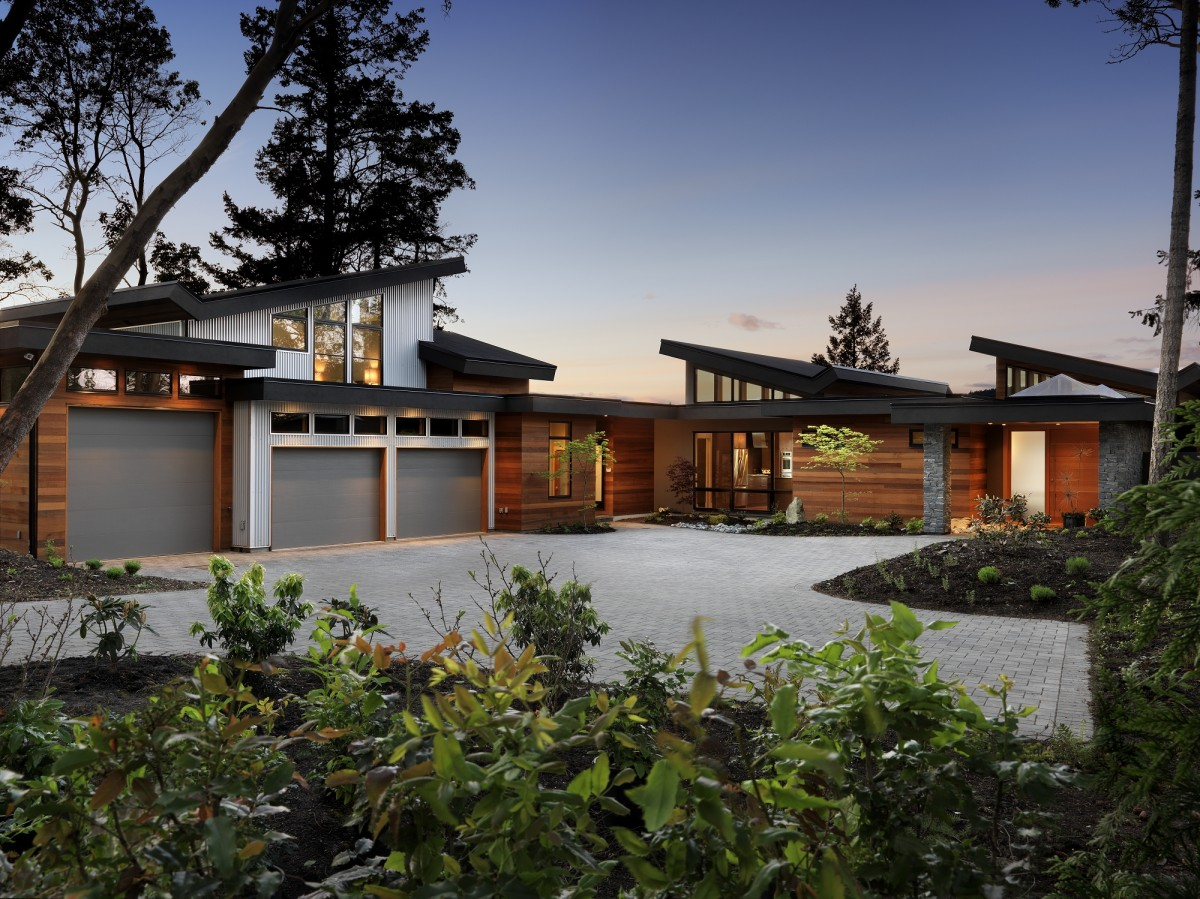 19 Stunning West Coast Contemporary Homes  Building Plans