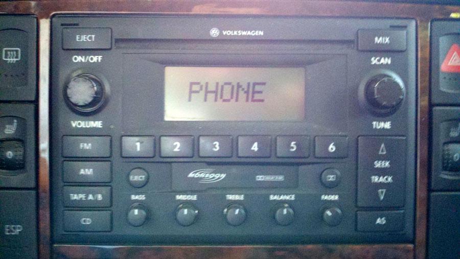 VWVortexcom  Enabling Bluetooth Control of Cell Phone