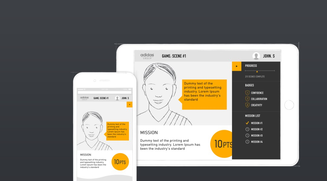 Responsive user interface designs
