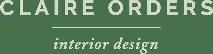 Interior designer elegant logotype