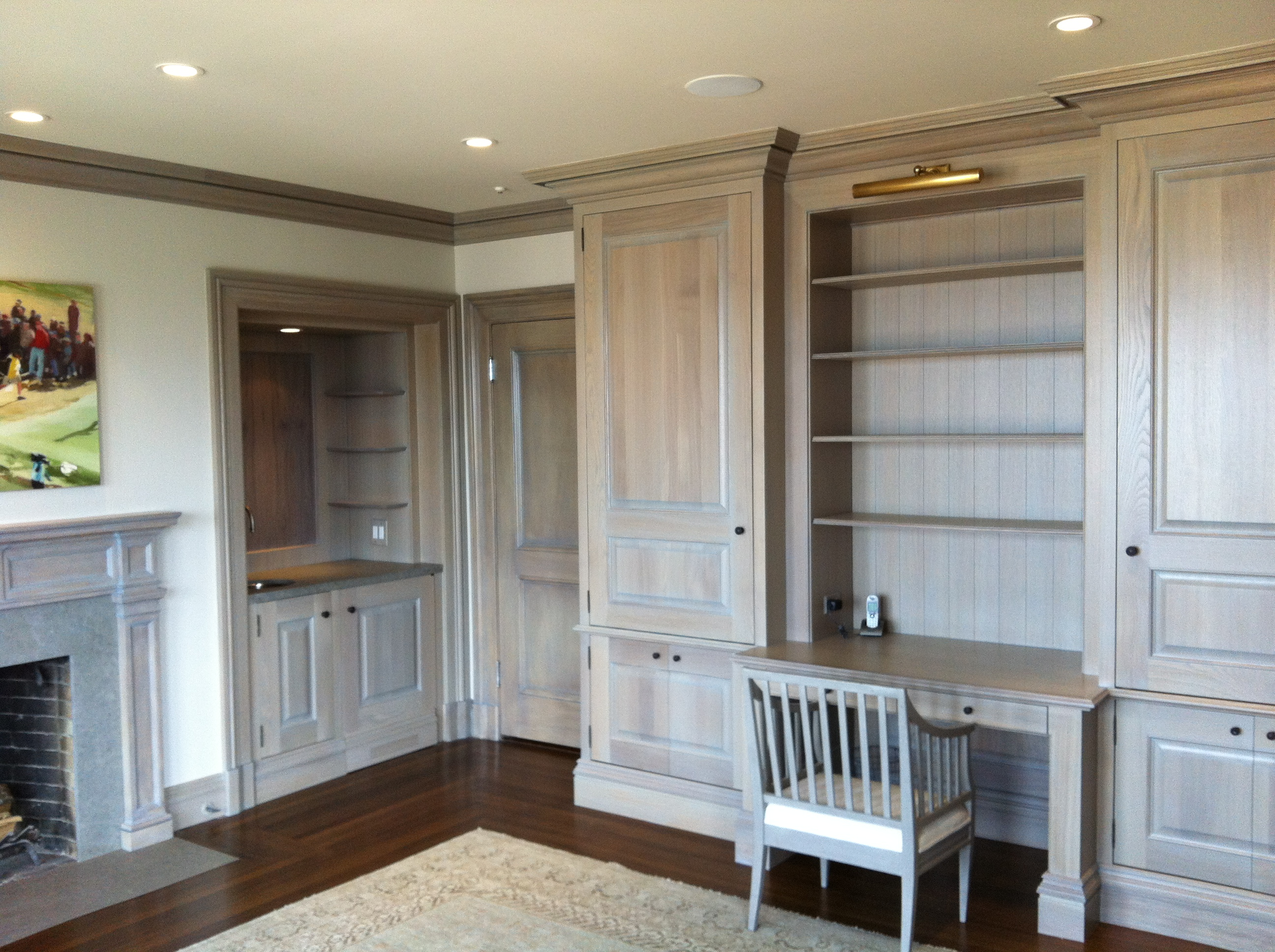 Keith Bruns Woodworking  White Oak Office