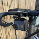 Wahoo GoPro Mount: Front side angle view