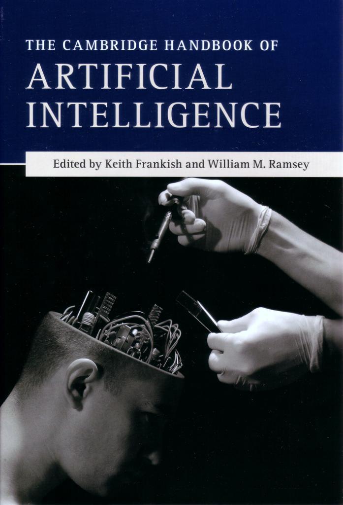 Cambridge Handbook of AI front cover