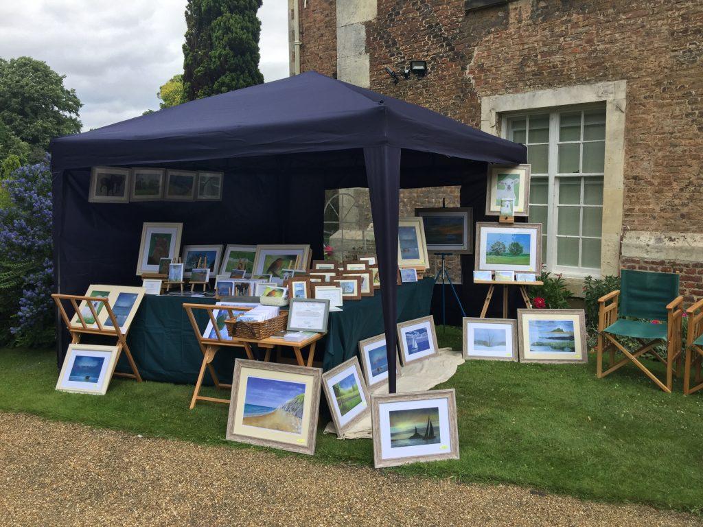 keithhillsdenart - Exhibiting my works at Bishopthorpe Palace Gala day