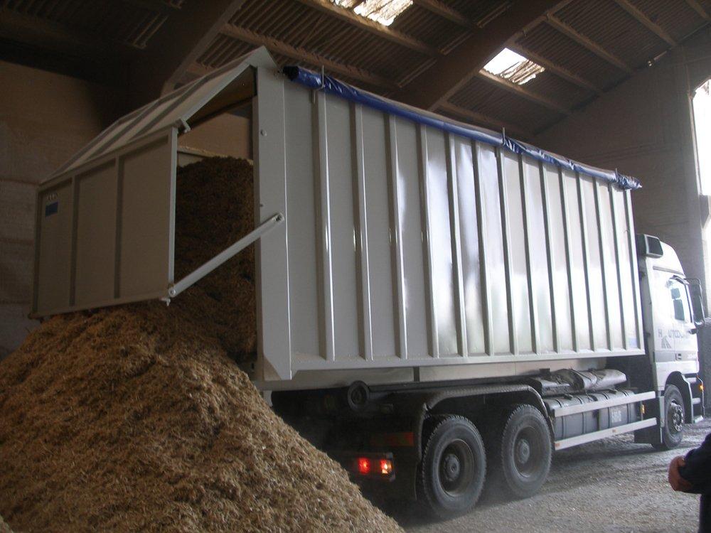 Unloading Biomass