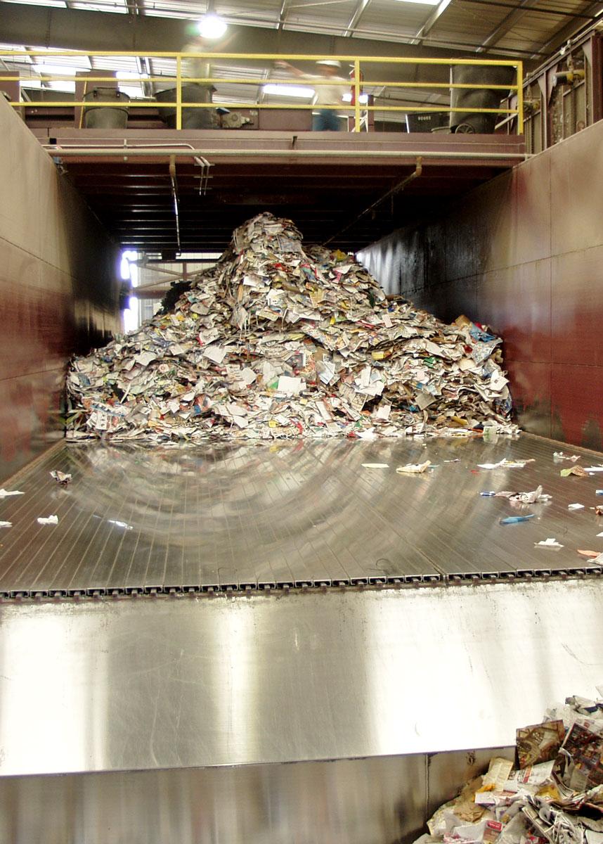 Unloading Green Waste
