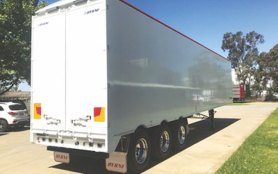 Byrne Trailers Introduces New Design