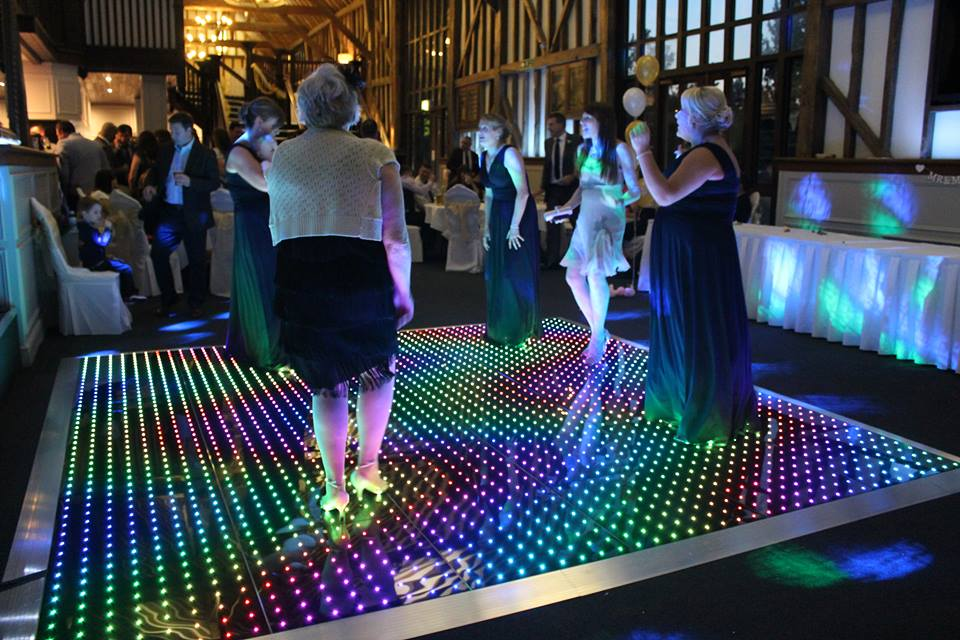 chair covers for event brown wooden folding chairs led colour commander and starlit dance floor, chesterfield