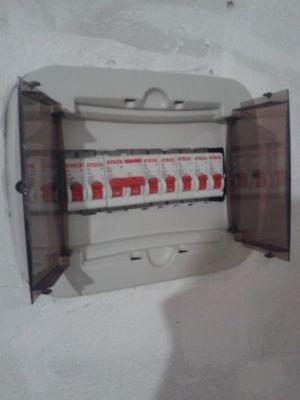 caixa de distribuição.