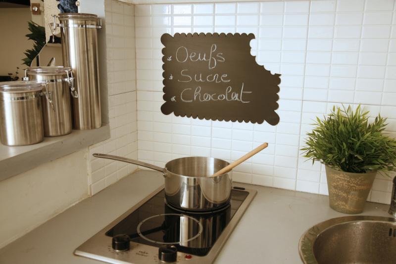 Tableau Ardoise Cuisine Moderne - Décoration de maison idées de ...
