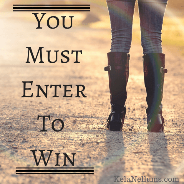 Pursuing What Is Excellent- You Must Enter To Win