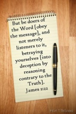 doers not hearers only