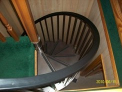 Spiral going to basement level