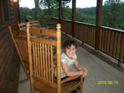 Sydney on the Porch