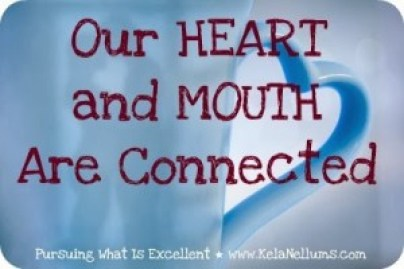 Pursuing What Is Excellent Heart Mouth Connection
