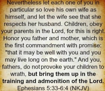 God's Instruction to Families