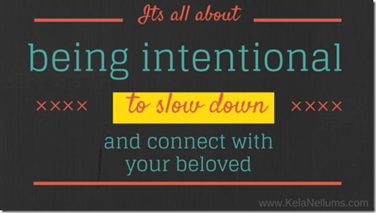 Pursuing What Is Excellent Its all about being intentional