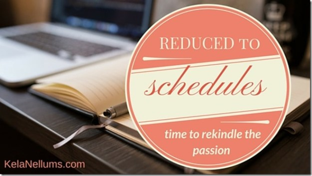 Pursuing What Is Excellent -- Reduced to Schedules
