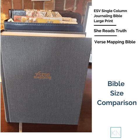 Bible Size Comparison