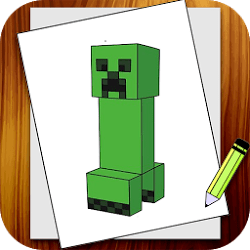 Learn to Draw Minecraft app | Android中文網