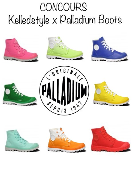 concours palladium boots