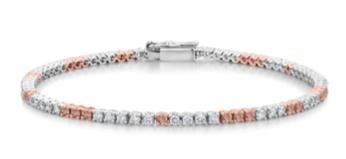 Pink Diamonds Bracelet