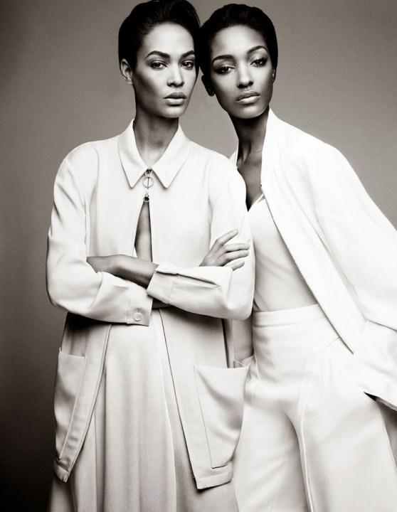 Jourdan Dunn & Joan Smalls W Magazine February 2014-004