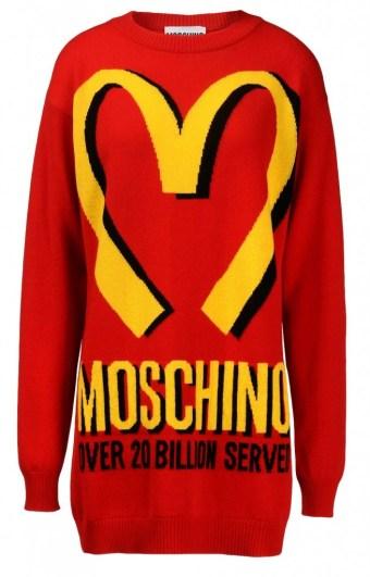 moshino mcdonald dress