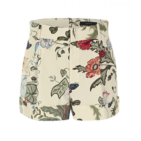 gucci-pale-yellow-flora-knight-print-cotton-shorts