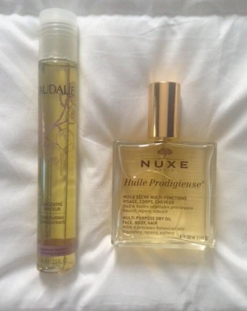 huile Caudalie Nuxe