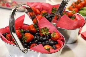 red fruit basket
