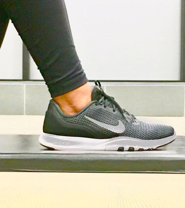 black training shoes