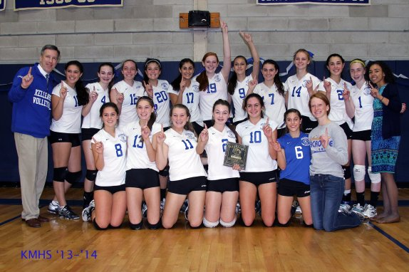 JV Volleyball Champs