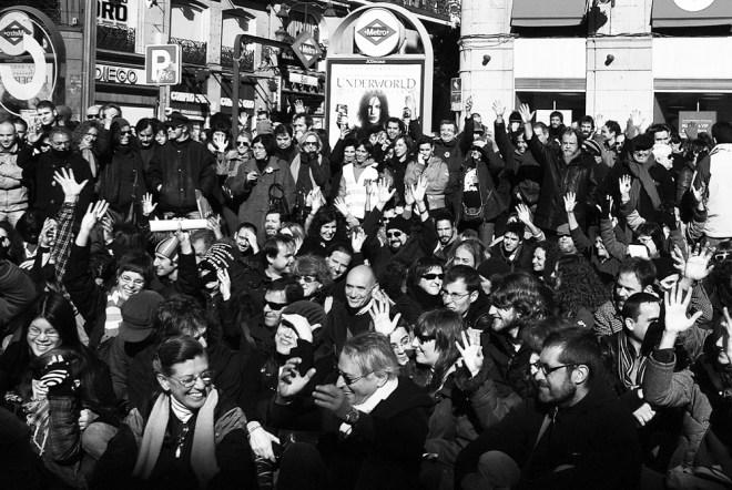 Abb. 4: Asamblea, Puerta del Sol, Madrid