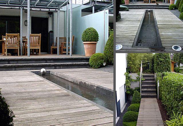 gartenarchitektur kleine garten - meuble garten, Terrassen ideen