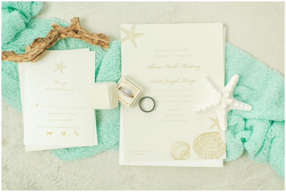 beachy bridal details