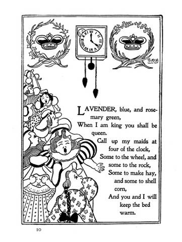 listography: books (158 Mother Goose Nursery Rhymes)