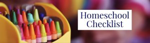 Homeschool Checklist
