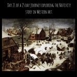 Article on the Census at Bethlehem by Pieter Bruegel.