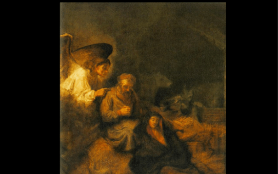 Rembrandt's Dream of Saint Joseph