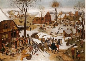 Brueghel the Younger's Census at Bethlehem