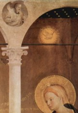 Detail from Fra Angelico's Cortona Annunciation