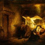 Rembrandt, another Dream of Saint Joseph
