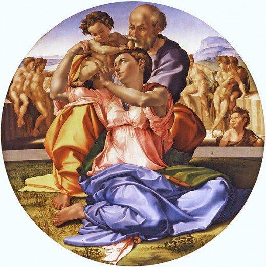 Michelangelo's Dono Tondo