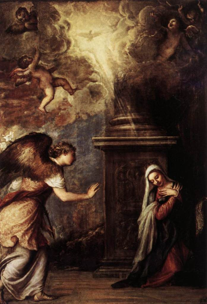 Titian, the Annunciation