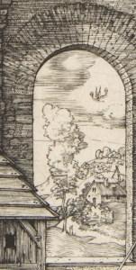 Detail from Durer Nativity