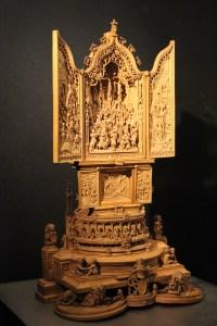 Boxwood altarpiece
