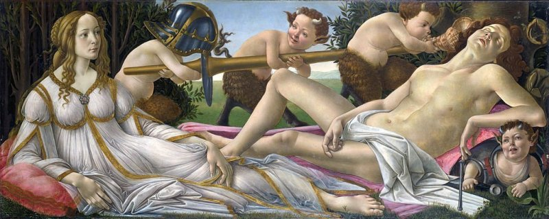 How to teach Botticelli's Venus and Mars