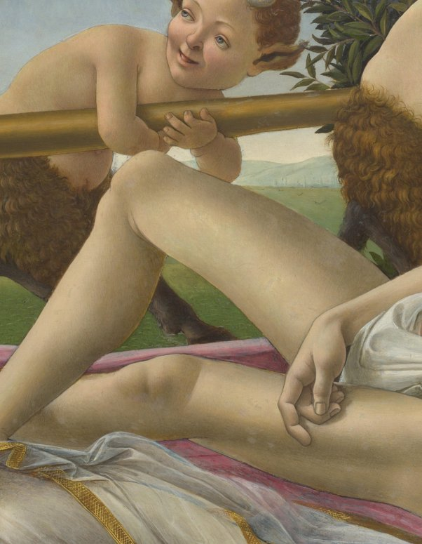 Teaching Botticelli's Venus and Mars
